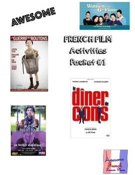 AWESOME FRENCH FILM PACK (4 films)