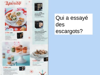 AWESOME FRENCH NOËL CHRISTMAS REALIA Powerpoint