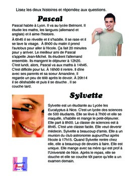 AWESOME La Routine Reflexives and Daily Life