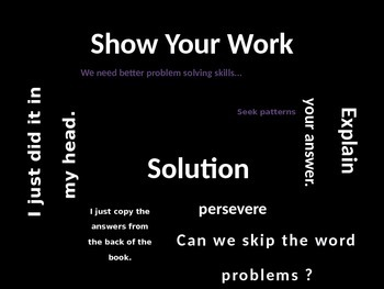 AWEsome Problem Solving for Back to School Week