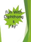AY Diphthong cards
