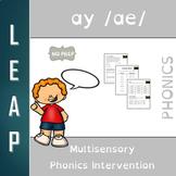 AY - Long Vowel A - No Prep Phonics