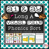AY and AI Phonics Sort