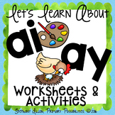 AY and AI Worksheets and Activities