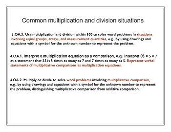 AZ.3.1,4.OA.1.2,3.OA.3.Use multiplication/ division to solve word problems
