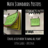 AZ 5th Grade Math Standards Posters