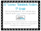 AZ 5th Grade Science Standards Posters