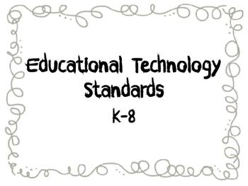 AZ Educational Technology Standards Posters