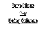 AZ Science Core Ideas and Practices for Science and Engineering Posters