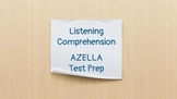 AZELLA Listening Comprehension Test Preparation Passages Stage IV