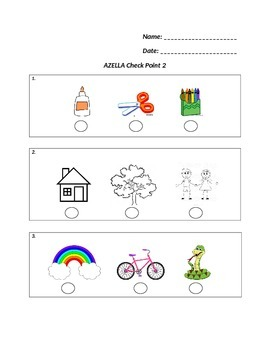 AZELLA Practice Assessment