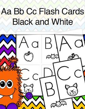 Aa Bb Cc Letter Picture Flash Cards
