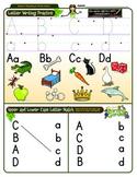 Aa, Bb, Cc and Dd Worksheet