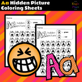 Aa Hidden Picture Coloring Sheets