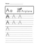 Aa Letter Practice