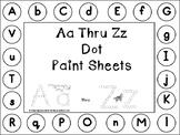 Aa Thru Zz Dot Paint Sheets