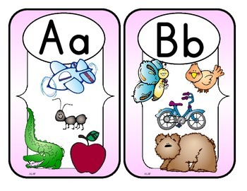 Aa Thru Zz Flash Cards Set 2