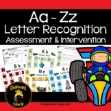 Aa - Zz Letter Recognition Races Assessment and Intervention