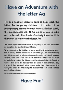 Aa is for....
