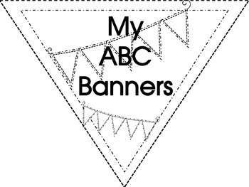 Aa to Zz Letter and Sound Banners