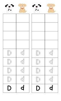 Aa to Zz Handwriting Graphing Races (Legal Sized Paper)