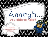 Wish List Pirate Themed: AAARGH you able to help?