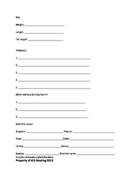 Aardvark Review Article 15 questions vocabulary PDF format