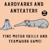 PE Game - Aardvarks and Anteaters: Fine Motor Skills Physical Education Game!