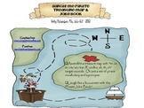 Aargh! Me Pirate Treasure Map & Joke Book