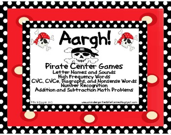 Aargh! Pirate Center Games