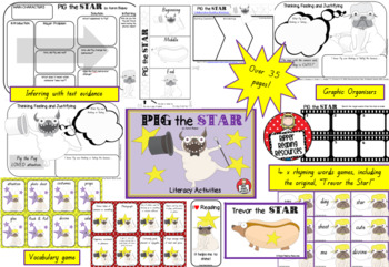 Aaron Blabey - Pig the Star - Literacy Activities