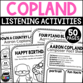 Aaron Copland Classical Music Composer Listening Activities, November
