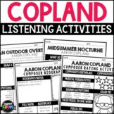 Aaron Copland, November 14th Birthday, Autumn, Thanksgivin