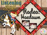 Aaron Copland Rodeo:  Hoedown Listening Activity
