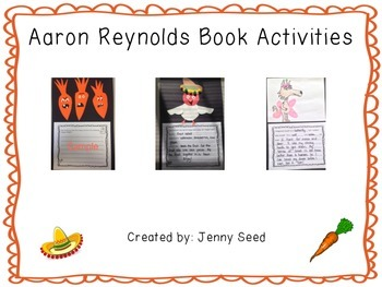 Aaron Reynolds Book Projects