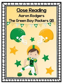 Aaron Rodgers:  The Green Bay Packers QB - A Close Reading