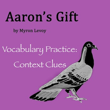 """Aaron's Gift"" by Myron Levoy - Vocabulary Practice: Context Clues"