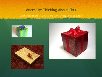 Aaron's Gift by Myron Levy Short Story Lesson