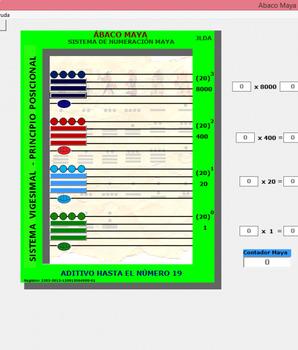 Ábaco Maya Software Interactivo