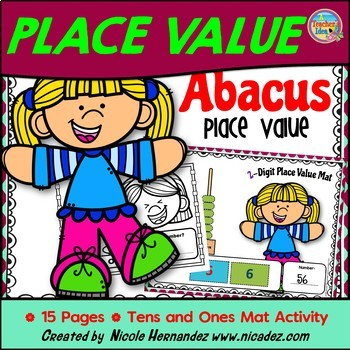 Abacus Place Value Tens and Ones Activity