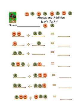 Abacus and Apple Jack Addition