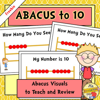 Numbers On Abacus Teaching Resources Teachers Pay Teachers