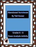 Abandoned Farmhouse Collaborative Poetry Lesson
