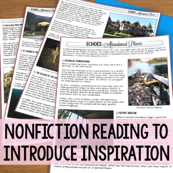 Abandoned Places - Creative Writing from Nonfiction
