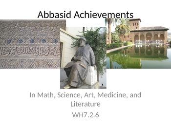 Abassid Achievements PowerPoint