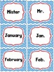 Abbreviation Anchor Chart + Matching Game File Folder