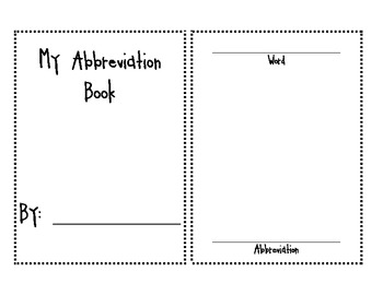 Abbreviation Book