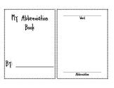 Abbreviation Book