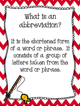 Abbreviation Match Up