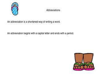 Abbreviation Puzzles